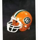 Edmonton Eskimos Trading Card 1992 All World CFL CL #95