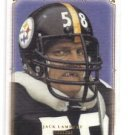 Jack Lambert Tradng Card Single 2008 Upper Deck Masterpieces #78 Steelers