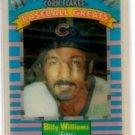 Biilly Williams Trading Card Single 1991 Sportflics Kelloggs #9 Cubs
