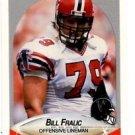 Bill Fralic Trading Card Single 1990 Fleer #375 Buccaneers