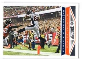 DeMaryius Thomas Trading Card Single 2013 Score #62 Broncos