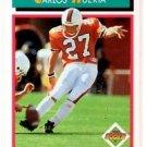 Carlos Huerta RC Trading Card Single 1992 Score #511 Chargers