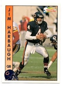 Jim Harbaugh Trading Card Single 1992 Pacific #30 Bears