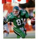 Ray Elgaard Tradng Card Single 1992 All World CFL #84