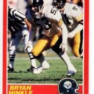 Bryan Hinkle Trading Card Single 1989 Score #206 Steelers