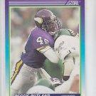 Reggie Rutland RC Trading Card Single 1990 Score #498 Vikings