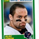Alec Lemon RC Trading Card Single 2013 Score #334 Texans