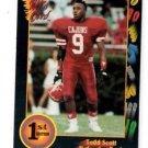 Todd Scott Tradng Card Single 1991 Wild Card #156