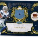 Jason Witten Royalty Trading Card 2010 Panini Crown Loyale #17 Cowboys