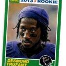 Desmond Trufant  RC Trading Card Single 2013 Score #398 Falcons