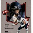 Jim Covert Trading Card Single 1990 Fleer All-Pro #7 Bears