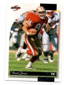Brent Jones Tradng Card Single 1996 Score #159 49ers