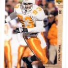 Chris Mims RC Tradng Card Single 1992 Upper Deck #16 Chargers