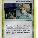Bill's Maintenance Holo Trainer Single Pokemon Crystal Guardians 71/100 x1