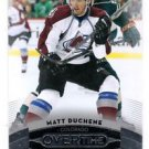 Matt Duchene Trading Card Single 2015-16 UD Overtime #10 Avalanche