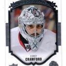Corey Crawford Portraits Insert 2015-16 Upper Deck Portraits #P6 Blackhawks