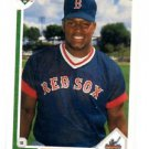 Mo Vaughn Trading Card Single 1991 Upper Deck #5 Red Sox