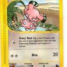Snubbell Common Trading Card Single Pokemon Skyridge 101/144 NMT x1