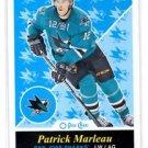 Patrick Marleau Retro SP 2015-16 UD OPC #491 Sharks