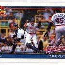 Carlton Fisk Trading Card Single 1991 Topps #170 White Sox