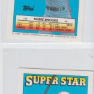Hubie Brooks Super Star Mini Lot of (2) 1988 Topps #10 Expos Backs #104 241 97