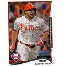 Darin Ruf Trading Card Single 2013 Topps Mini Exclusives #345 Phillies