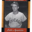 Luis Aparicio Trading Card Single 2001 Upper Deck Legends #35 White Sox
