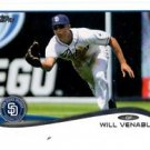 Will Venable Trading Card Single 2013 Topps Mini Exclusives #64 Padres