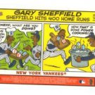 Gary Sheffield Trading Card Single 2005 Topps Bazooka #2 Tigers