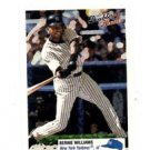 Bernie Williams Mini Trading Card Single 2003 Fleer Double Header #127 Yankees