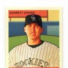 Garrett Atkins Red Back SP MIni Trading Card Single 2007 UD Goudey #41 Rockies