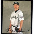 Brian Lawrence Red Back Trading Card 2007 Topps #477 Rockies