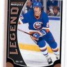 Mike Bossy Marquee Legends Card 2015-16 UD OPC #562 Islanders