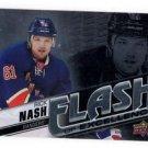 Rick Nash Flash Excellence Insert 2015-16 UD Overtime #FOE-2 Rangers