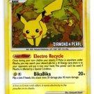 Pikachu LVL 15 Reverse Holo Common  Pokemon Mysterious Treasures 94/123 x1