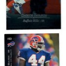 Darick Holmes Tradng Card Lot of (2) 1996 Upper Deck Silver #153 Bills