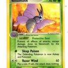 Venomoth Uncommon Trading Card Pokemon FireRed & LeafGreen 49/112 x1