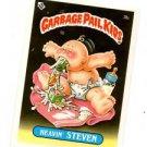 Heavin Steven License Back Sticker Card 1985 Topps Garbage Pail Kids UK MIni #3b