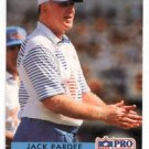 Jack Pardee Trading Card Single 1992 Pro Set #189 OIlers