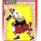 Cam Neely Crunch Crew Trading Card Single 1991-92 Score Canadien #305 Bruins