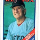 John McNamara Trading Card Single 1988 Topps 414 Red Sox MGR