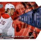 Jacob De La Rose 2015-16 Full Force Goooal #GJD Canadiens