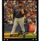 Livan Hernandez Red Back SP Trading Card Single 2007 Topps #42 Diamondbacks