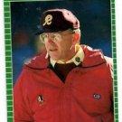 Joe Gibbs RC Trading Card Single 1989 Pro Set #440 Redskins