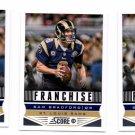 LeSean McCoy Franchise Trading Card Lot of (3) 2013 Score #292 Rams
