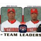 Jeff Kent Derek Lowe  Trading Card Single 2006 Fleer #TL14 Dodgers