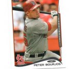 Peter Bourjos Trading Card Single 2013 Topps Mini Exclusives #480 Cardinals