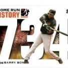 Barry Bonds Home Run History Trading Card 2006 Topps #BB734 Giants