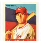 Ryan Freel Red Back Trading Card 2007 UD Goudey #108 Reds