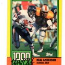 Neal Anderson Trading Card Single 1990 Topps #8 Bears